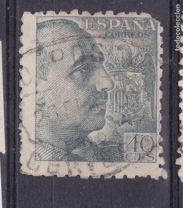 CC23- FRANCO MATASELLOS GIRO POSTAL CERVERA LÉRIDA (Sellos - España - Estado Español - De 1.936 a 1.949 - Usados)