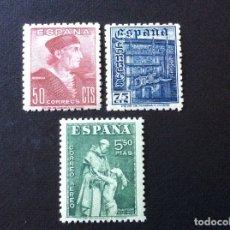 Sellos: ESPAÑA Nº EDIFIL 1002/4*** AÑO 1946. FIESTA DE LA HISPANIDAD. Lote 180286508