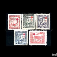 Sellos: ESPAÑA - 1944 - EDIFIL 984/988 - SERIE COMPLETA - MNH** - NUEVOS - VALOR CATALOGO 40€.. Lote 181392831