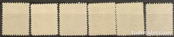 Sellos: Edifil 855/860** LUJO Isabel La Católica 1938/39 Serie completa NL887 - Foto 2 - 67693009