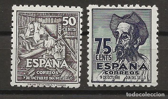 R8/ ESPAÑA 1947 MNH**, EDIFIL 1012/13, CERVANTES (Sellos - España - Estado Español - De 1.936 a 1.949 - Nuevos)