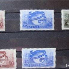 Sellos: ESPAÑA 1949 EDIFIL 1063/65 UNION POSTAL NUEVOS SIN CHARNELAS VER DESCRIPCION FOTOS. Lote 181930476