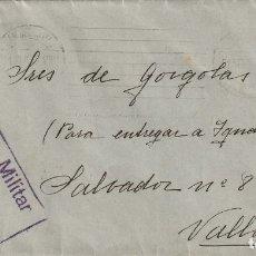 Sellos: SOBRE CON CENSURA MILITAR DE SAN SEBASTIÁN (1937) . Lote 181961075