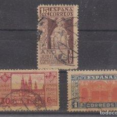 Selos: ESPAÑA.- 833/35 AÑO SANTO COMPOSTELANO. MATASELLADA.. Lote 203225612