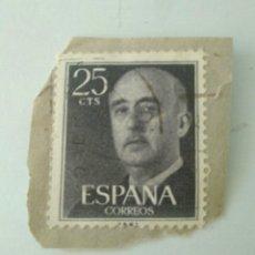 Sellos: SELLO 25 CENTIMOS FRANCO ESPAÑA.3. Lote 182050351
