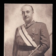 Sellos: *** TARJETA DEL GENERAL FRANCO -EL CAUDILLO- POR JALÓN ÁNGEL. SIN USAR. ***. Lote 183370976