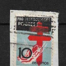 Sellos: ESPAÑA 1937 EDIFIL 840 USADO - 14/22. Lote 183493207