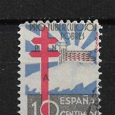 Sellos: ESPAÑA 1938 EDIFIL 866 USADO - 14/22. Lote 183493650