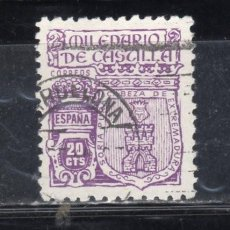Sellos: ED Nº 974 MILENARIO DE CASTILLA USADO. Lote 184205732