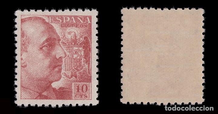 Sellos: 1940-45. General Franco. 10c. cast. naranja. Nuevo**.MNH. Edifil.920 - Foto 2 - 184717682