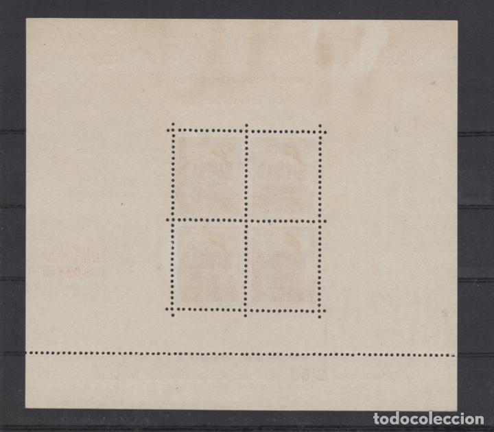 Sellos: 1941 Hojita Postal Navidad Barcelona Edifil 31/32** VC 80,00€ - Foto 3 - 185938307