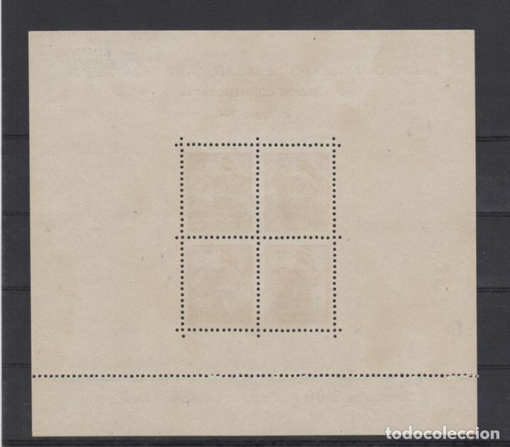 Sellos: 1941 Hojita Postal Navidad Barcelona Edifil 31/32** VC 80,00€ - Foto 5 - 185938307