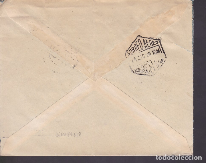 Sellos: F6-31- Carta Hijos Sabater. REUS- CANADA. 1945. Tuberculosos - Foto 2 - 186371863