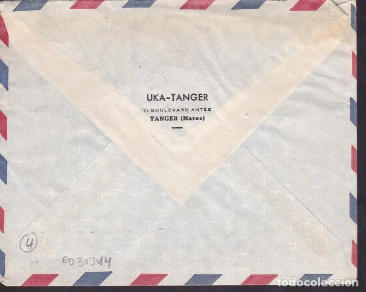 Sellos: F6-34- Carta TANGER- USA 1950 - Foto 2 - 186372137