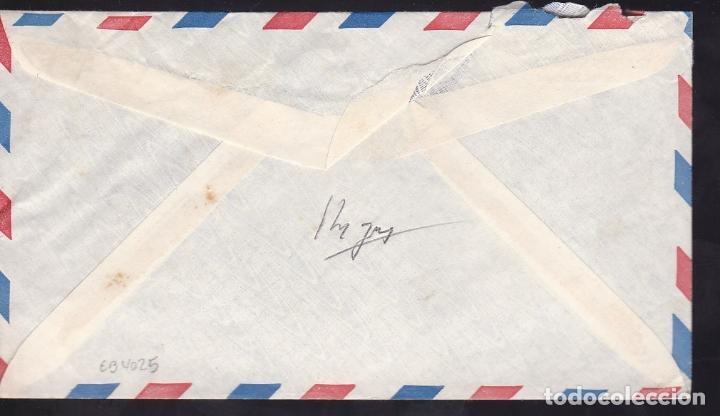 Sellos: F6-45- Carta PALAMOS Gerona -USA 1952 - Foto 2 - 186464540