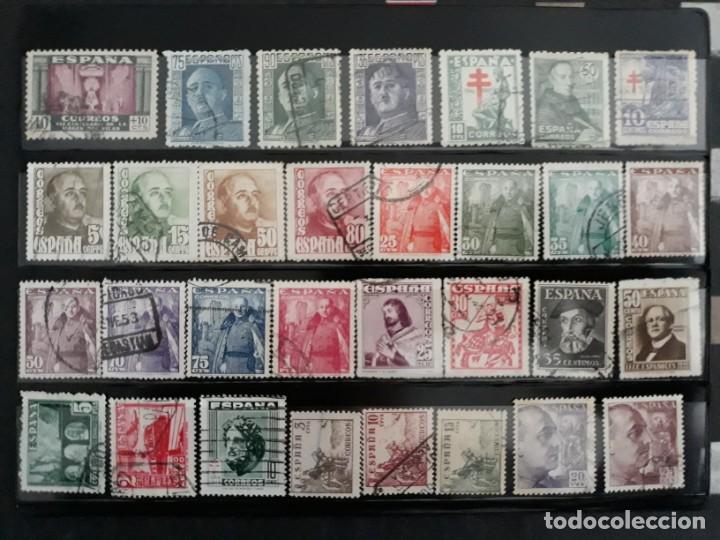 Sellos: LOTE 122 SELLOS DISTINTOS ESTADO ESPAÑOL. USADOS. ESPAÑA 1936-1949. 5 IMAGENES - Foto 4 - 187094340