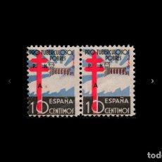 Sellos: ESPAÑA - 1938 - ESTADO ESPAÑOL - EDIFIL 866 - MNH** - NUEVOS - PAREJA - VALOR CATALOGO 55€.. Lote 190835705