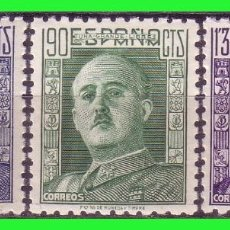 Sellos: 1946 GENERAL FRANCO, EDIFIL Nº 999 Y 1001 *. Lote 191302980