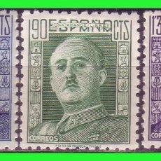 Sellos: 1946 GENERAL FRANCO, EDIFIL Nº 999 Y 1001 * *. Lote 191303022