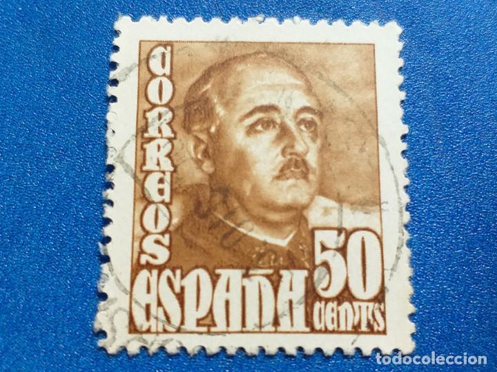 USADO. AÑO 1948- 1950. EDIFIL 1022. GENERAL FRANCO. (Sellos - España - Estado Español - De 1.936 a 1.949 - Usados)