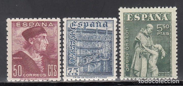 ESPAÑA, 1946 EDIFIL Nº 1002 / 1004 /**/ DÍA DEL SELLOS, SIN FIJASELLOS (Sellos - España - Estado Español - De 1.936 a 1.949 - Nuevos)