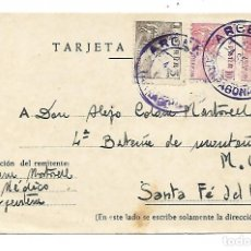 Sellos: TARJETA POSTAL REINTEGRADA - 3-9-1946. Lote 192894395