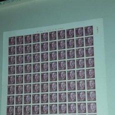 Sellos: LOTE DE 100 SELLOS GENERAL FRANCO 40CTS PLIEGO EDIFIL 1148 NUMERADOS X14612. Lote 192896585