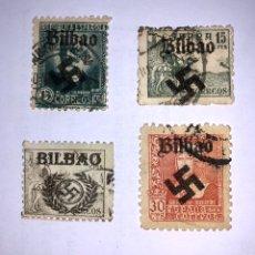 Sellos: SELLOS AÑOS 1936/37 SOBRECARGA FASCISTA.. Lote 193248352