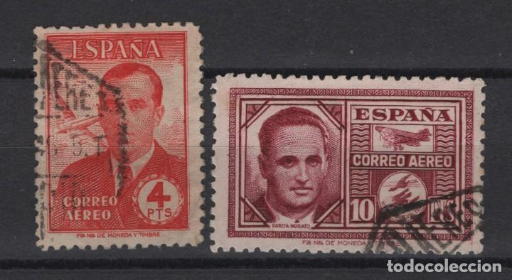 TV_001/ ESPAÑA USADOS 1945, EDIFIL 991/92, HAYA Y GARCIA MORATO (Sellos - España - Estado Español - De 1.936 a 1.949 - Usados)