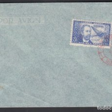 Sellos: CARTA FILATELICA, SELLOS EDIFIL Nº 983, DR. THEBUSSEM, MATASELLOS MADRID, EN ROJO.. Lote 193740440