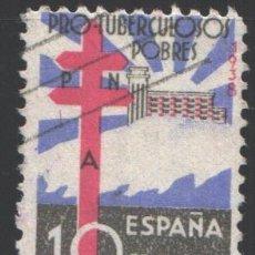Sellos: ESPAÑA, 1938 EDIFIL Nº 866, PRO TUBERCULOSOS . Lote 193863142