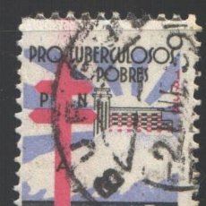 Sellos: ESPAÑA, 1938 EDIFIL Nº 866, PRO TUBERCULOSOS . Lote 193863167