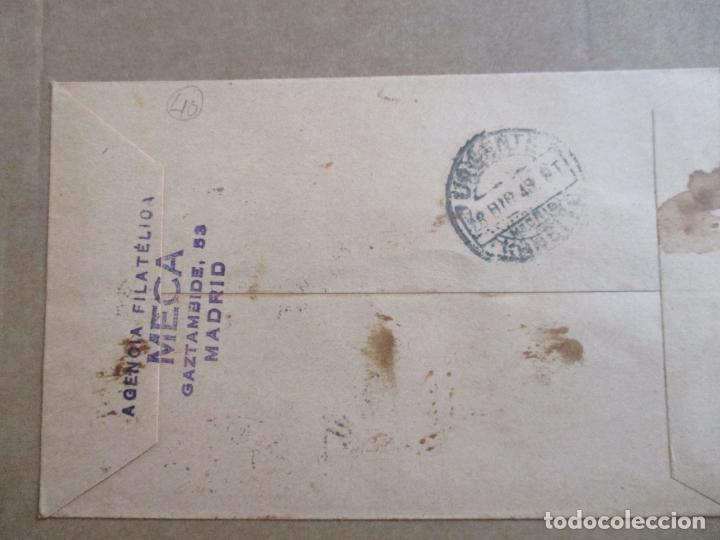Sellos: circulada 1948 de madrid a huelva - Foto 2 - 193942431