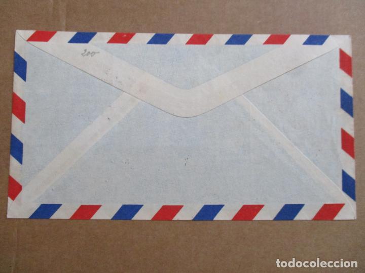 Sellos: soria 1949 circulada union postal a santa isabel fernando poo con serie completa primer dia - Foto 2 - 193983928