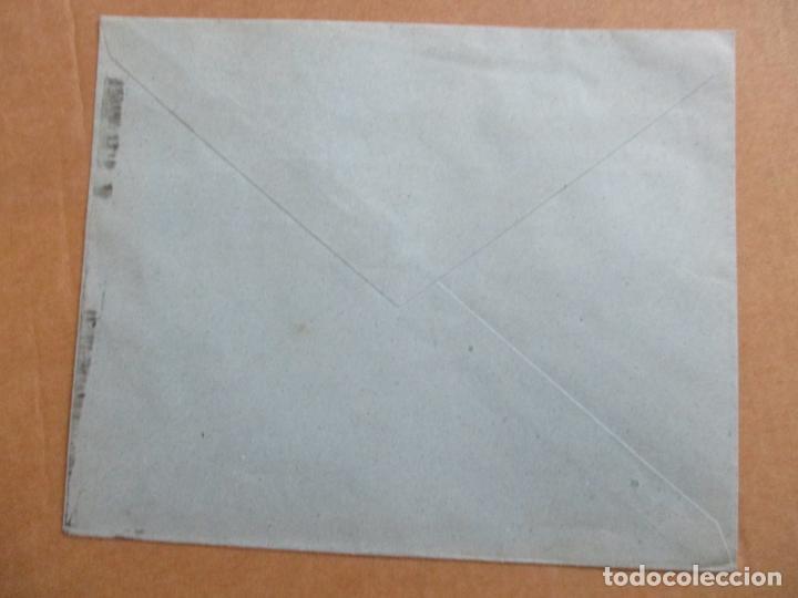 Sellos: circulada 1943 DE BARCELONA A BARNA - Foto 2 - 193987370
