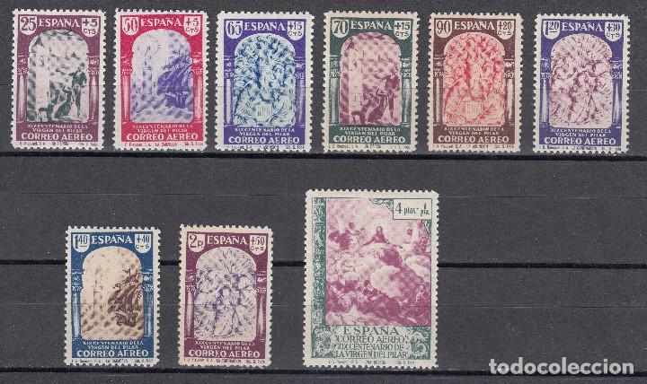 1940 EDIFIL 904/12** NUEVOS SIN CHARNELA. SERIE CORTA. VIRGEN DEL PILAR (Sellos - España - Estado Español - De 1.936 a 1.949 - Nuevos)