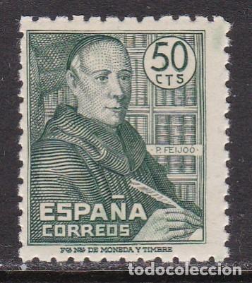 1947. PADRE BENITO J. FEIJOO SELLO NUEVO SIN FIJASELLOS EDIFIL Nº 1011 (Sellos - España - Estado Español - De 1.936 a 1.949 - Nuevos)