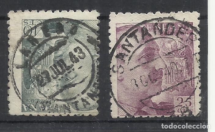 LAREDO SANTANDER FECHADORES FRANCO (Sellos - España - Estado Español - De 1.936 a 1.949 - Usados)