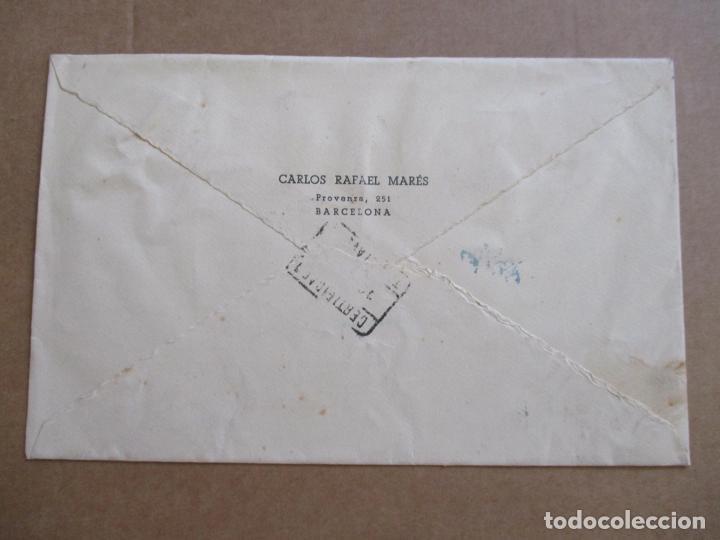 Sellos: CIRCULADA DE BARCELONA A TORRELAVEGA SANTANDER - Foto 2 - 194507296