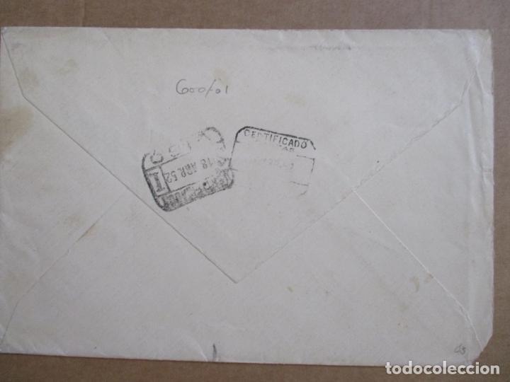 Sellos: CIRCULADA 1952 DE RAMALLOSA PONTEVEDRA A MENDOZA ARGENTINA EDIFIL 935 - Foto 2 - 194508621