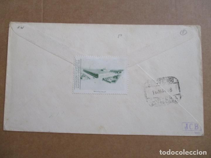Sellos: CIRCULADA 1948 DE EXPOFILATELICA DE SABADELL A BARCELONA - Foto 3 - 194509941