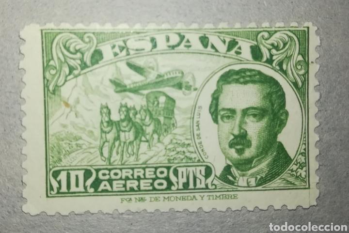 ESPAÑA SPAIN 1945 CONDE DE SAN LUIS EDIFIL 990 (Sellos - España - Estado Español - De 1.936 a 1.949 - Nuevos)