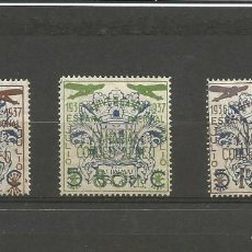 Sellos: ESPAÑA.GUERRA CIIVIL.SELLOS BENÉFICOS DE LAS PALMAS DE GRAN CANARIA.SERIE COMPLETA.CATÁLOGO 11,75 €. Lote 194685157