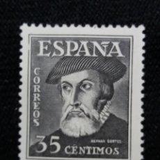 Sellos: SELLO ESPAÑA, 35 CTS, HERNAN CORTES, AÑO 1948. SIN USAR. Lote 195040995
