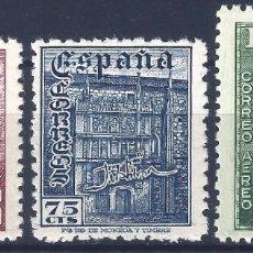 Sellos: EDIFIL 1002-1004 DÍA DEL SELLO. FIESTA DE LA HISPANIDAD (SERIE COMPLETA). MNH **. Lote 195165118
