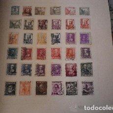 Sellos: ESPAÑA - LOTE DE 36 SELLOS USADOS. Lote 195218656