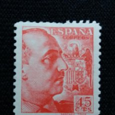 Sellos: SELLO ESPAÑA, 45 CTS, FRANCO, AÑO 1949. SIN USAR. Lote 195328000