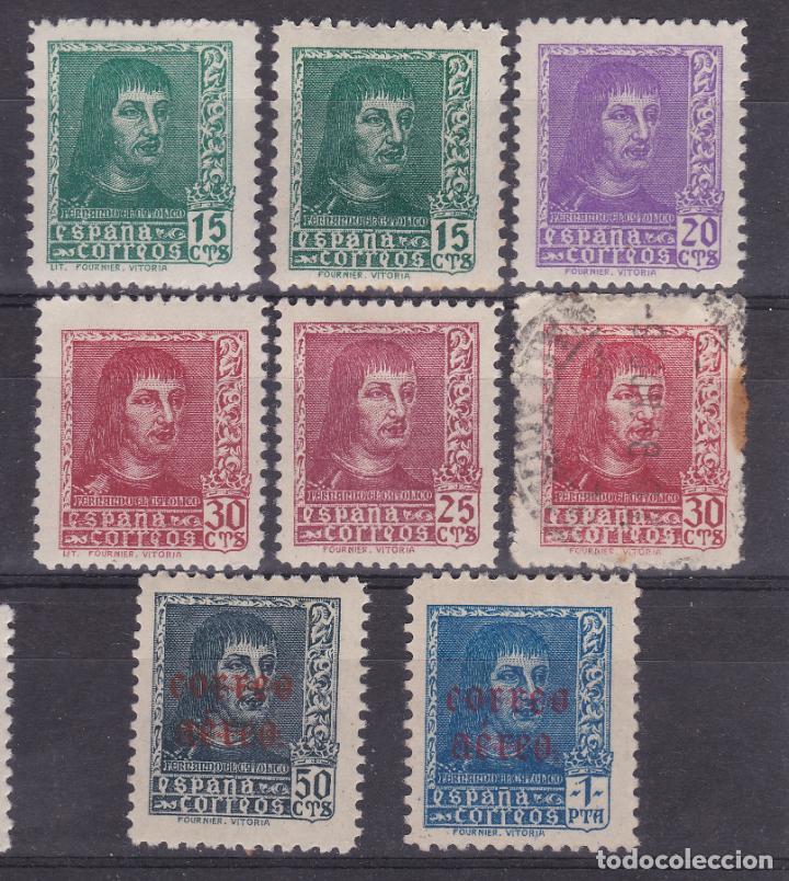 LL7- FENANDO CATÓLICO EDIFIL 841 /46 + 100 EUROS (Sellos - España - Estado Español - De 1.936 a 1.949 - Nuevos)