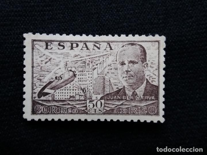 SELLO ESPAÑA, 50 CTS, J. DE LA CIERVA, AÑO 1939. SIN USAR (Sellos - España - Estado Español - De 1.936 a 1.949 - Nuevos)