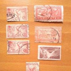 Sellos: ANTIGUOS SELLOS DE CORRESPONDENCIA URGENTE ESPAÑA. Lote 197615321
